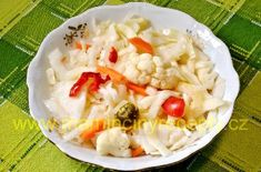 Kvašená zelenina – Maminčiny recepty Cabbage, Vegetables, Red Peppers, Cabbages, Vegetable Recipes, Brussels Sprouts, Veggies, Sprouts