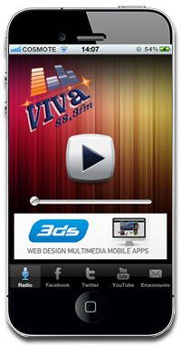 Over 50 applications online. Create your radio application now!