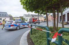 Stollberger Innenstadt wegen #Gasaustritt abgeriegelt #Sperrung