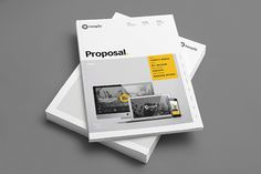 Proposal Template on Behance
