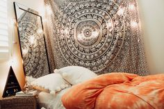 Lady Scorpio | @Ladyscorpio101 ☽☽ ladyscorpio101.com ☆ Perfect Bedroom Decor for the Hippie at heart ♡ These decorations are perfect for Christmas and the Holidays for your home