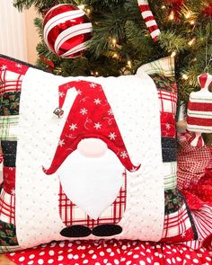 OKAY this one is our new favorite!!! (well, we say that every month!) but TRUST US... it's too stinkin' adorable not to love! Introducing… Christmas Sewing Gifts, Christmas Sewing Patterns, Christmas Quilting, Christmas Gnome, Christmas 2019, Christmas Is Coming, Christmas Presents, Christmas Stockings, Winter Christmas