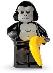 Lego mini figures - gorilla
