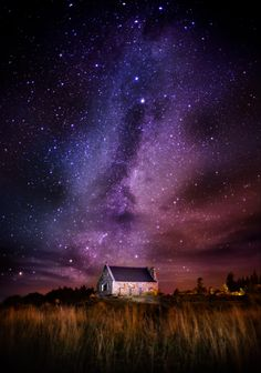 The Milky Way here on the South Island of New Zealand.  This is in a small town called Tekapo over the Church of the Good Shepherd.  I shot this with a Sony A7r and a Leica 24mm at f/1.4