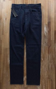 auth ZZEGNA Z Zegna straight leg dark blue jeans - Size 31 US - NWT | Clothing, Shoes & Accessories, Men's Clothing, Jeans | eBay!