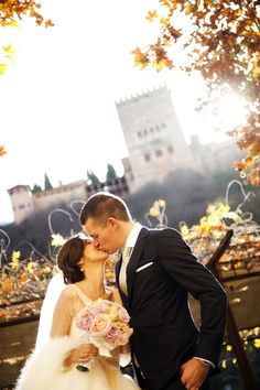 Detalles de una boda real: Carolina & Christoph en Granada {foto, Luna y Jose}