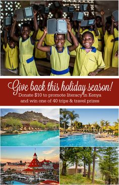 Donate $10 to @pwpurpose and win one of 40 luxe vacations and travel prizes: http://www.everintransit.com/passports-with-purpose-2015-win-travel-prizes-promote-literacy-in-kenya/