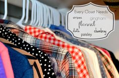 Home Style Report: My new winter staple...Plaid Flannel