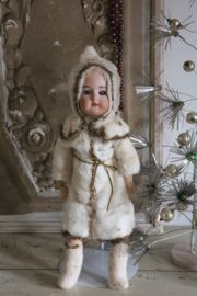 Antieke Franse kerstpop