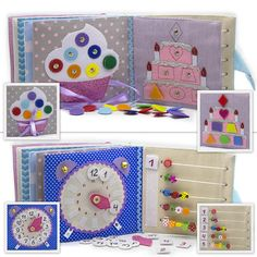 Quiet book light blue educational toy toddler baby developmental eco friendly panda 12 pages by MiniMom's This busy book is the authors idea. The activity book has a bag for storage and easy transportation. Quiet book is make of cloth. On every of 12 pages there are different kinds of clasps: -Velcro -Buttons -Knobs -Shoelaces -Zipper -Pins -Yarn The developmental books are fastened by plenty of stitches inside. After production our baby toys all details and the cover itself are checked…