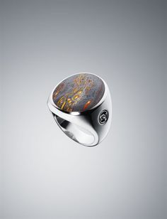 Would like to get this for christopher one day. Tiger Iron Exotic Stone Inlay Ring
