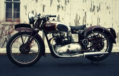 Steve McQueens 1938 Triumph Speed Twin