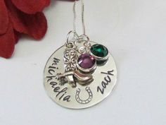 Country Girl Necklace, Couples necklace, Horse girl, Cowboy boots