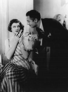 The always fabulous, always chic, Nick and Nora Charles. William Powell and Myrna Loy were phenomenal in The Thin Man series, which spanned over many years with many successful sequels.