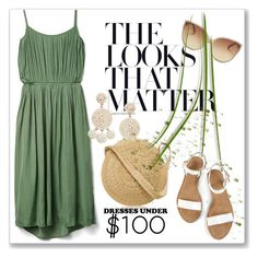 """""""Under $100: Summer Dresses"""" by andrejae ❤ liked on Polyvore featuring Gap, Linda Farrow, Humble Chic, Samuji, under100, polyvoreeditorial and polyvorecontest"""