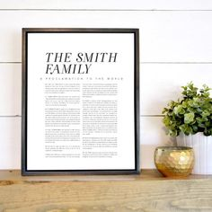 Rio Grange - Custom - Family Proclamation