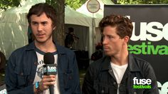 Shaun White Talks New Band Bad Things - Lollapalooza 2013