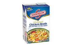 Swanson®'s Chicken Broth 48 oz. carton