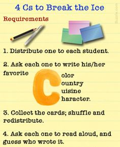 Classroom Icebreaker Activities for Students #icebreaker #classroom  #activity #idea #teacher