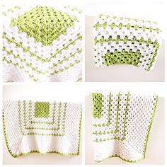 Crochet baby blanket. No directions, but the picture will do...