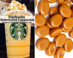 Butterscotch isn't just a confectionery treat! It's also a delicious Frappuccino flavor that you can try by ordering this recipe!
