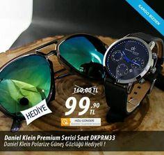 Daniel Klein premium serisi saat DKPR33 Daniel Klein Polarize güneş gözlüğü hediyeli... www.mallbudur.com