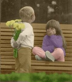 every girl really does want flowers.