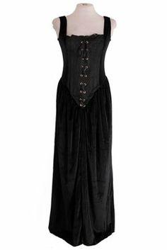 Romance Eyelet Gothic Dress