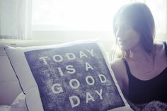 Good Day Pillow Cover