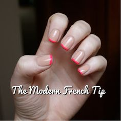 The Modern French Tip Manicure