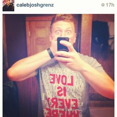 ❤ @calebjoshgrenz seems to always be reppin LTL! Youre awesome!!