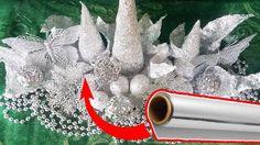 Aluminum FOIL Christmas Decoration - YouTube