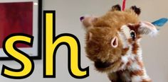 Consonant digraph 'sh' - with Geraldine Giraffe Phonics Videos, Phonics Activities, H Brothers, Consonant Digraphs, Learning Letters, Reading Resources, Letter Sounds, Eyfs, Word Work