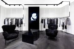 Karl Lagerfeld store by Plajer & Franz Studio and Laird + Partners, Paris   Updated store design