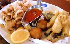 Fritto Misto in #Disney's Epcot -- Via Napoli!
