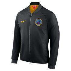 b90b9713c Golden State Warriors City Edition Nike Modern Men s NBA Varsity Jacket by  Nike