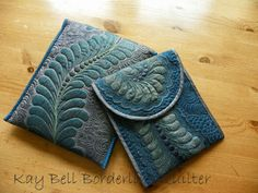 Borderline Quilter: Blues and Twos.....