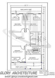 Simple Home Design Map Feet Ground Floor Plan Ground Floor Plan Mohammed Waseem House Plan Simple House Plans Indian House Agreeable Simple House Plan Creator Design B. 5 Marla House Plan, 2bhk House Plan, 3d House Plans, Indian House Plans, Simple House Plans, Model House Plan, Duplex House Plans, House Layout Plans, Simple House Design