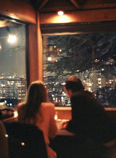 Love this view. The lights over dinner would be great! #myvalentinedate #thepinklocket.