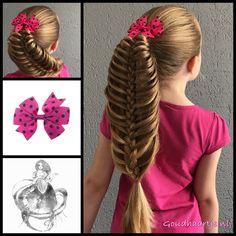 Rib cage braid with a beautiful bow from the webshop www.goudhaartje.nl (worldwide shipping). Hairstyle inspired by: @littlemisscutieandme (instagram) Tutorial by: @learndoteach (instagram) #ribcagebraid #hair #hairstyle #braid #braids #hairstylesforgirls #plait #trenza #peinando #прическа #pricheska #ヘアスタイル #髮型 #suomiletit #zöpfe #frisuren #fläta #fletning #beautifulhair #gorgeoushair #stunninghair #ponytail #hairaccessories #hairinspo #braidideas #longhair #blonde #goudhaartje