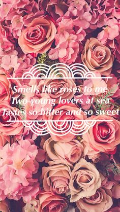 My edit I made of lyrics from Roses by James Arthur