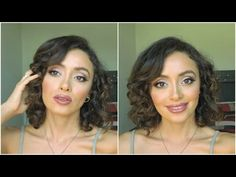 Maquillaje neutral y elegante | Drugstore Makeup ♥ Caro Montero - YouTube