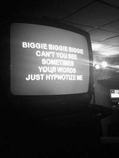 """""""And I just love your flashy ways, I guess that's why they're broke and you're so paid..."""" #BiggieSmalls #Iconic #lyrics"""
