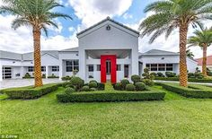 The five bedroom, five bathroom, 7,199 sq. ft. house is located in the exclusive North Links County Club area of Hialeah