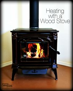 Last year propane was nearly double what we'd paid in the past. So, after considerable research and shopping around, we purchased a Napolean wood burning stove with a cook top. Here are a few of the advantages and disadvantages of heating with wood -- as well as some things we learned when purchasing our stove. | TraditionalCookingSchool.com