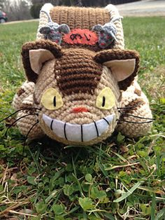 Cat Bus Free Crochet Pattern With Video Tutorial by Sharon Ojala