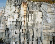 """Rock of Ages # 26,"" Abandoned Section, E.L. Smith Quarry, Barre, Vermont, 1991. Photograph by Edward Burtynsky."