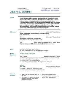 easy resume template free basic resume templates resume basic ...