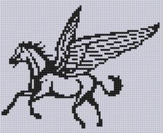 Looking for your next project? You're going to love Pegasus 2 Cross Stitch Pattern  by designer Motherbeedesigns. - via @Craftsy