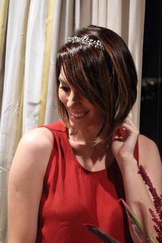 Rafaela Tomasi no evento de lançamento da segunda coleção LOOL por Marcos Proença.